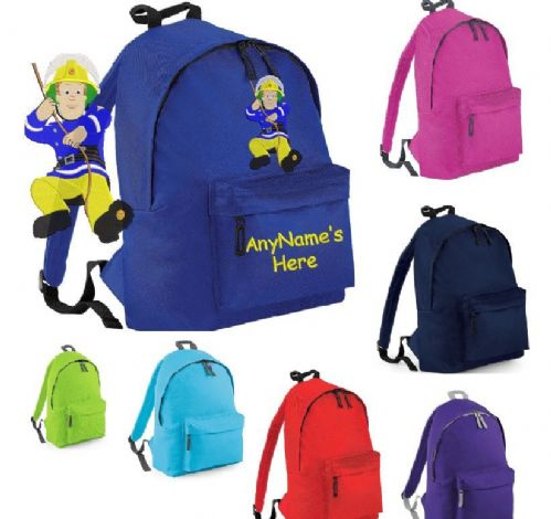 Fireman Sam Rucksack/Backpack.